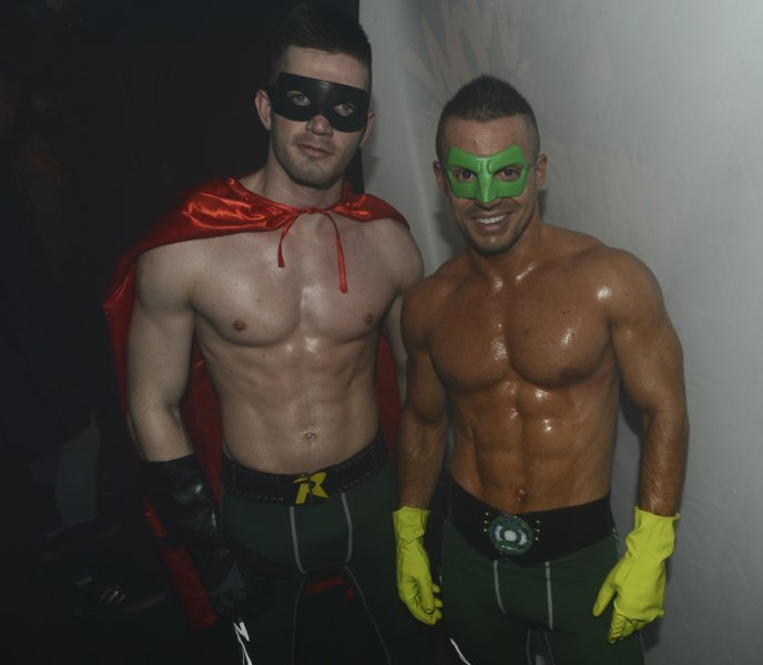 Picture About NIght Party of Various Male Models in Warrior Uniform via Sensitif.fr
